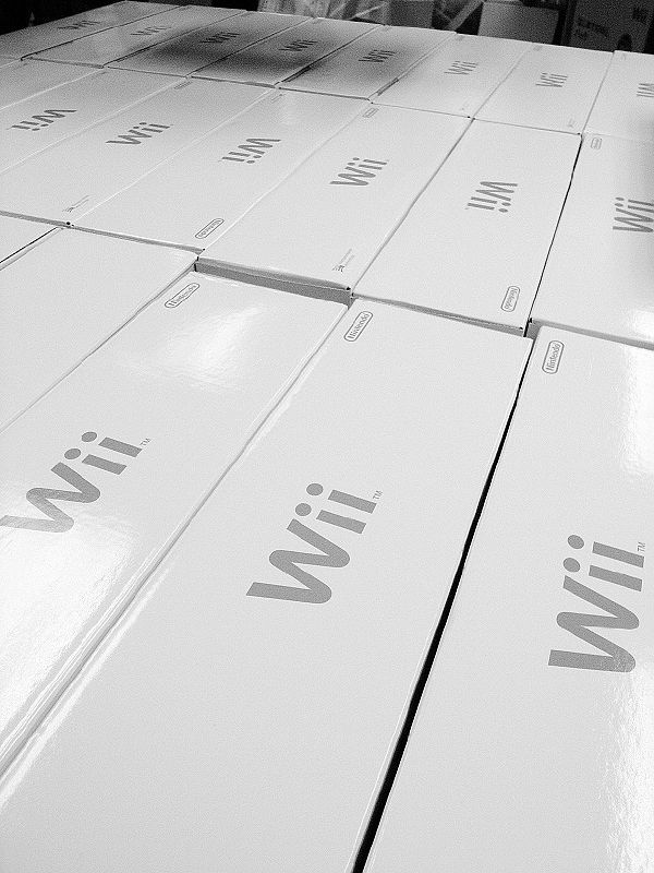 batch of wii consoles