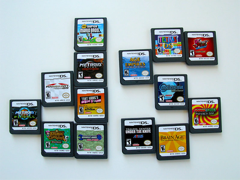 Nintendo  DS Game List