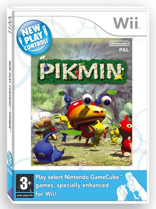 Nintendo Wii Pikmin Wii Boxart Finally Revealed My Nintendo News