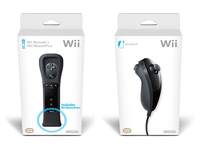 Black-Nintendo-Wii-mote-And-Nunchuck