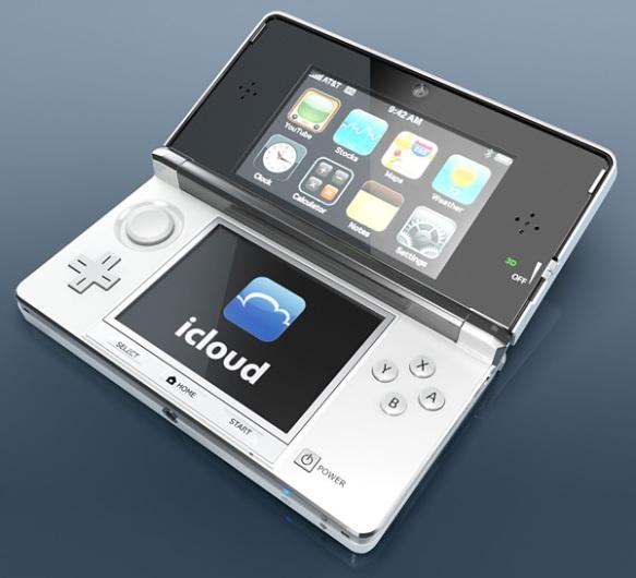 Et si Nintendo et Apple s'associaient pour la 3DS... Apple-3ds-2