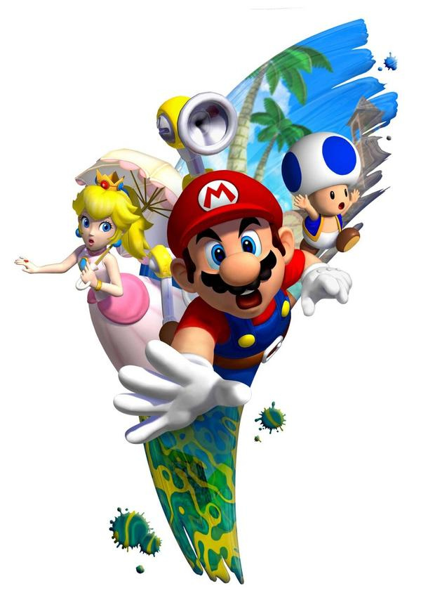 super mario sunshine sun