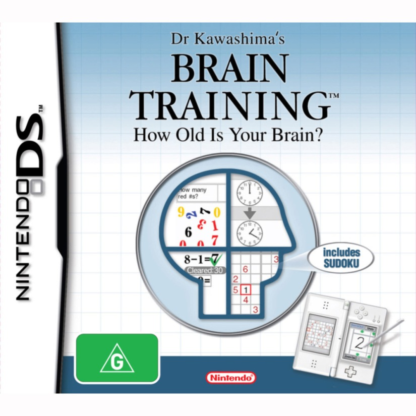 Brain Training On Virtual Console Is Now Free For UK Wii UOwners