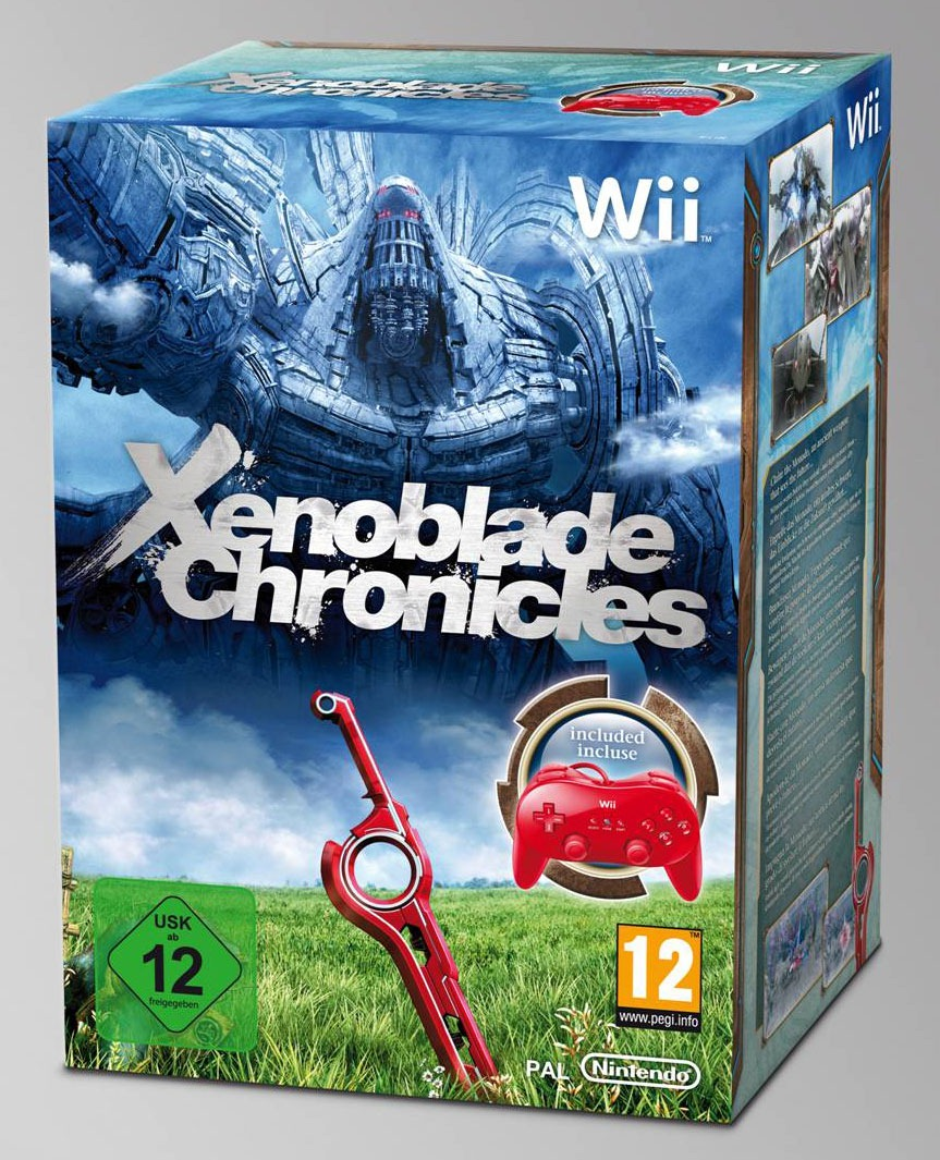 Nintendo Wii Xenoblade Chronicles Coming To North America As A