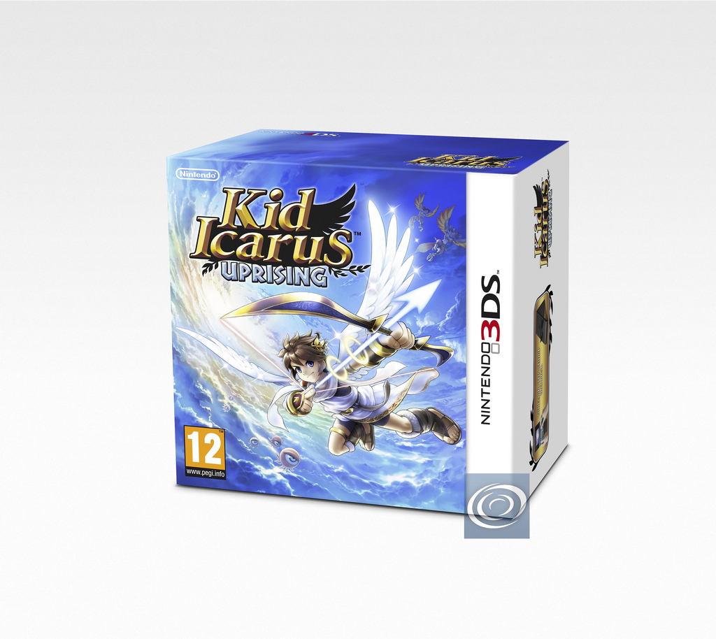 Heres The European Kid Icarus Uprising Packaging With Fancy Stand
