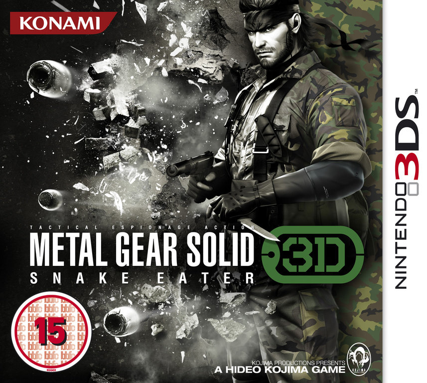 Metal Gear Solid Gets A Firm Release Date For Nintendo 3DS