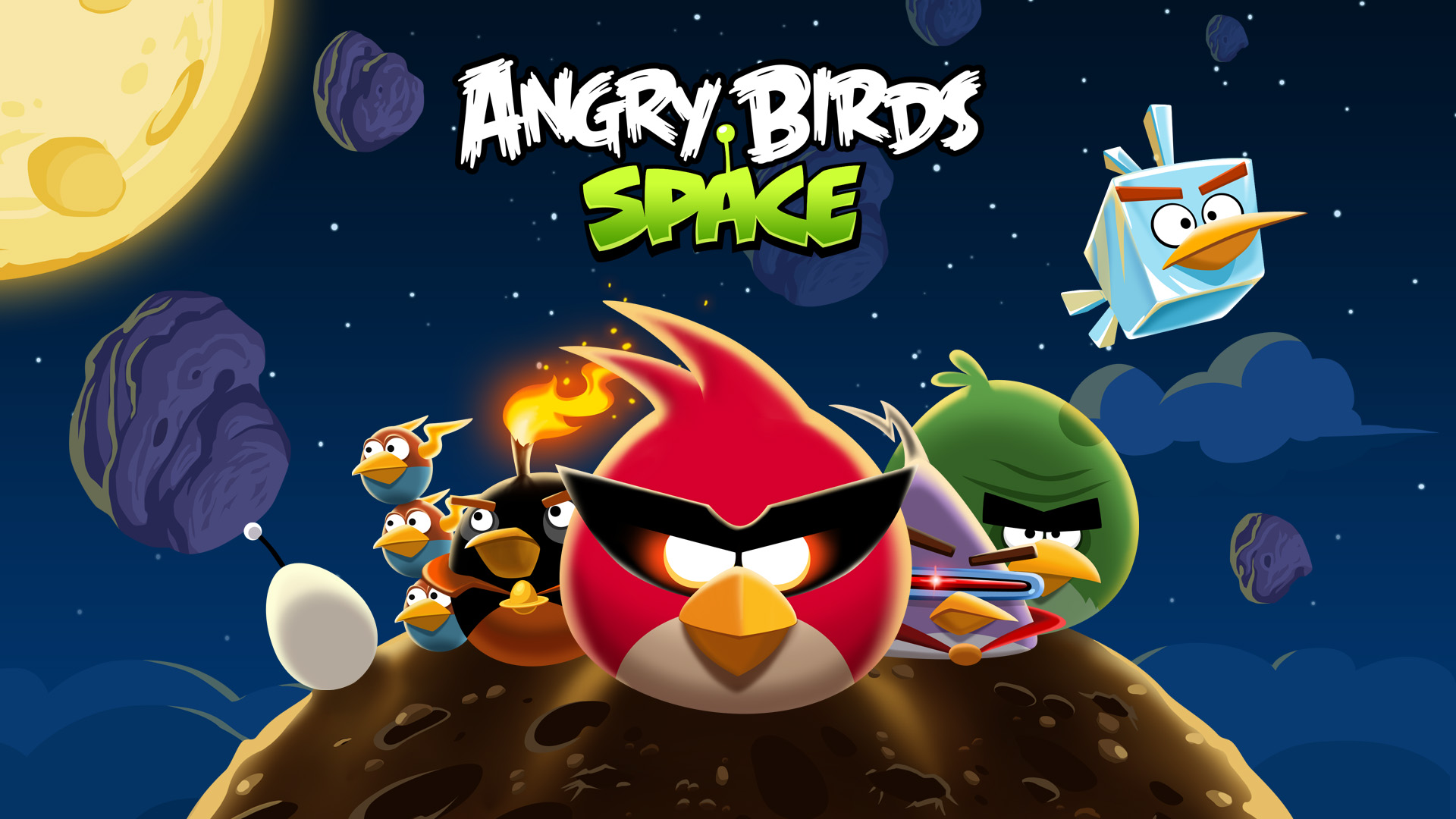 Angry Birds And Angry Birds Space Are Both Coming To
