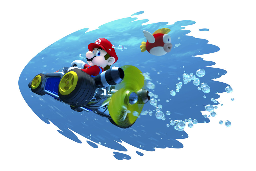 UK Charts: Nintendo's Mario Kart 7 Back In At Number 19