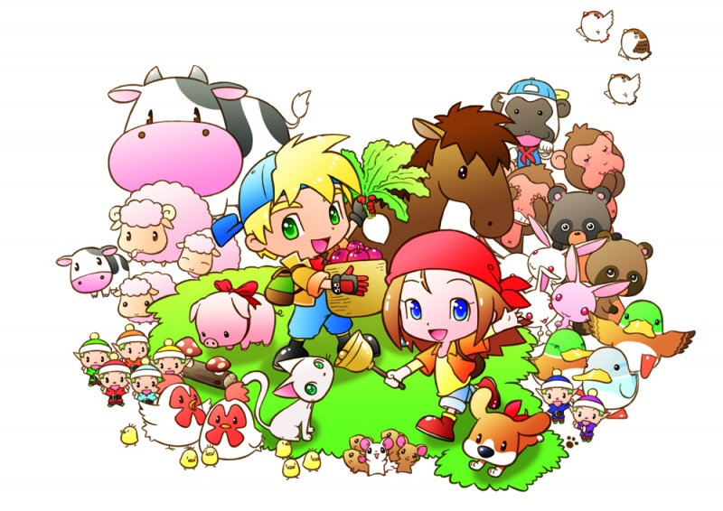 Harvest Moon 2 And Lufia: The Legend Returns Heading To Nintendo 3DS VirtualConsole