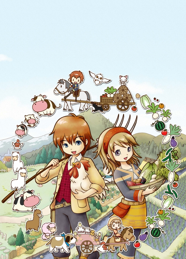 Harvest Moon: The Tale of Two Towns Release Date Confirmed