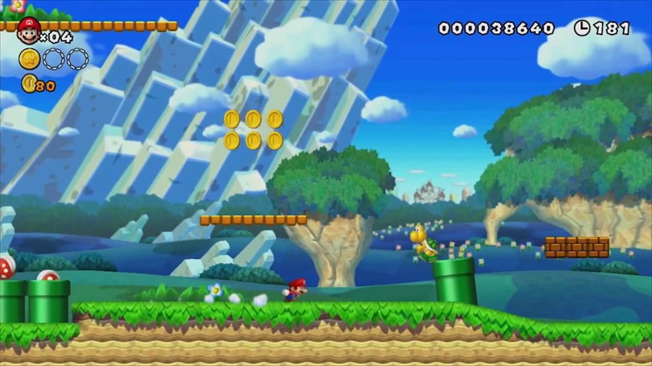 First Look At New Super Mario Bros Wii U My Nintendo News