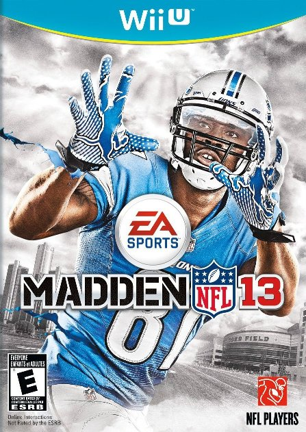 Here's The Madden NFL 13 Wii U Box Art | My Nintendo News