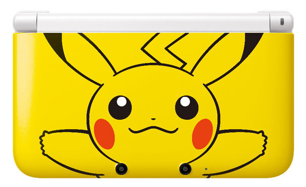 Nintendo 3ds xl pikachu yellow edition announced my for 3ds xl pikachu achat