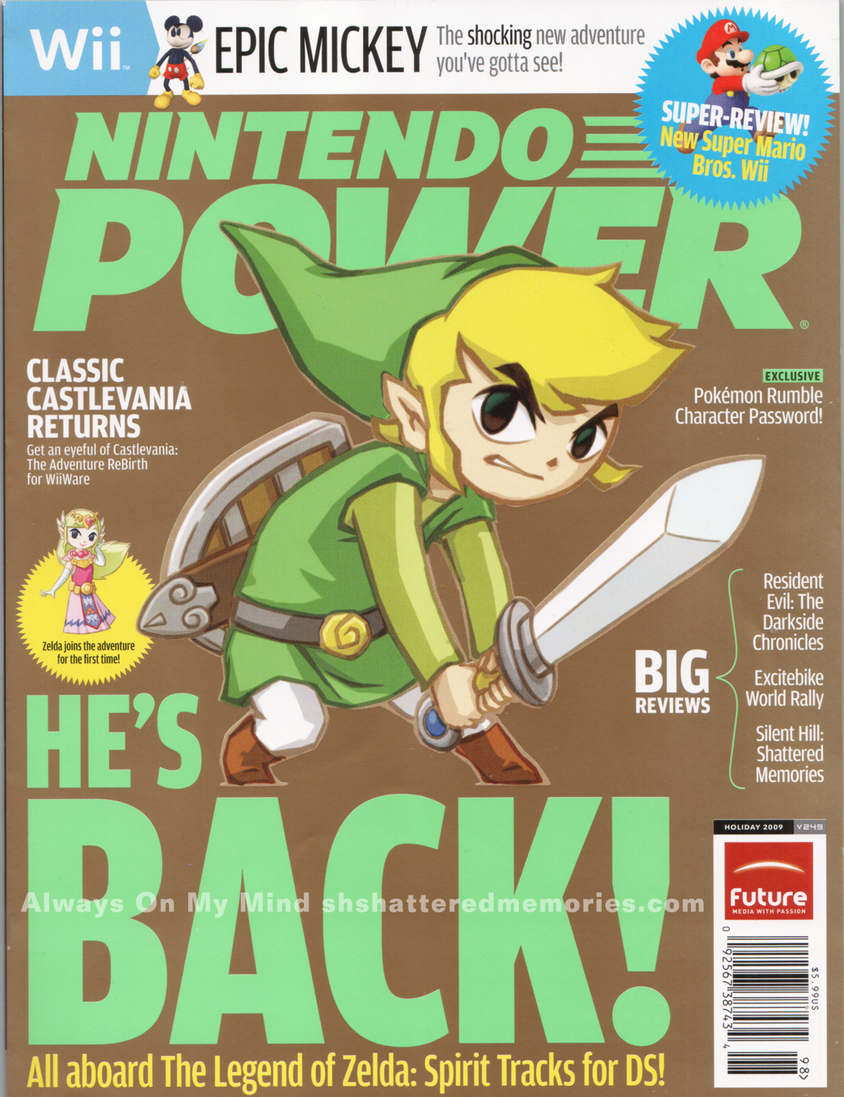Nintendo Power Magazines Lot 11 Issues 2005 2006 2007