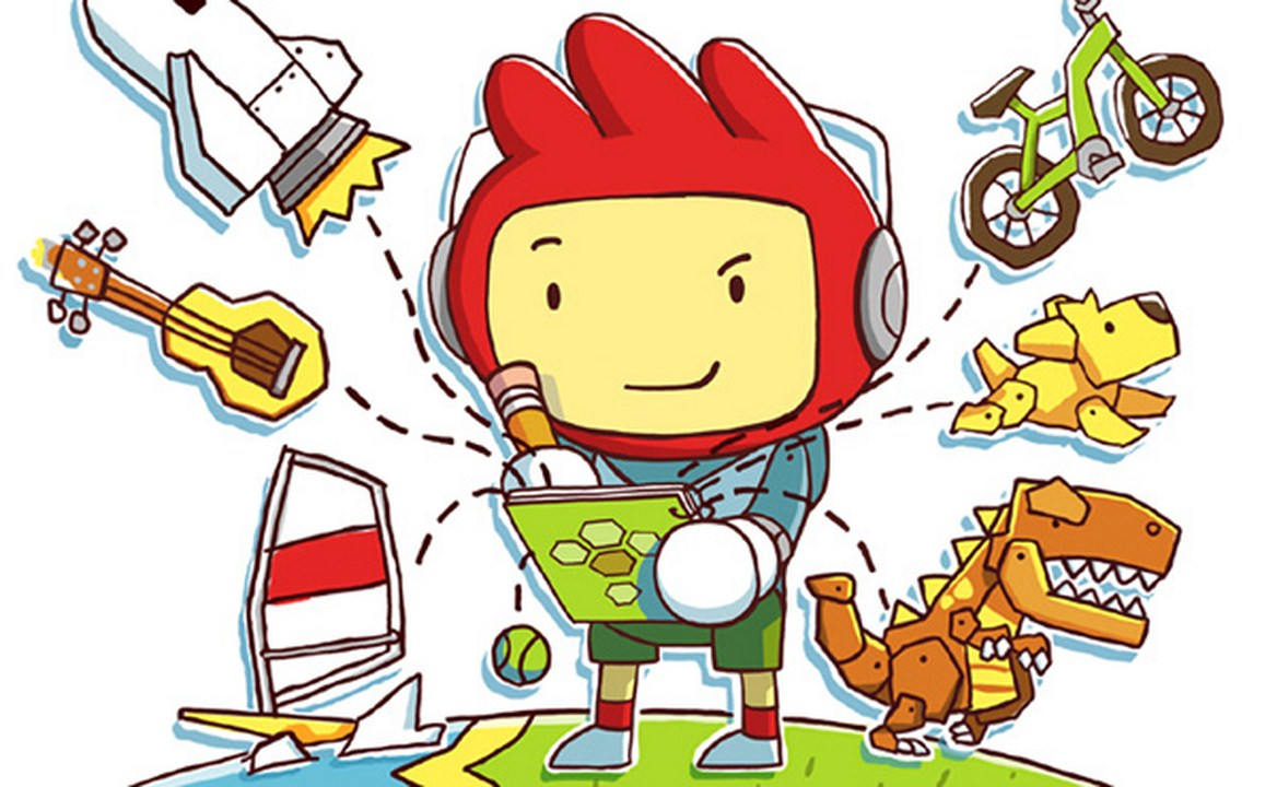 Scribblenauts Unlimited Supports Three Wii Remotes And One