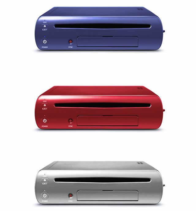 Silver Wii U