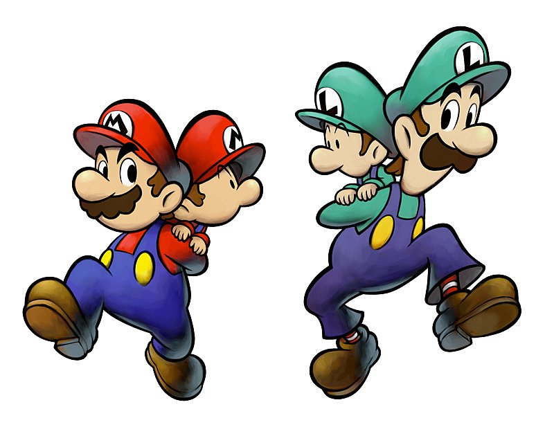 nintendo mario and luigi do not have a last name � my