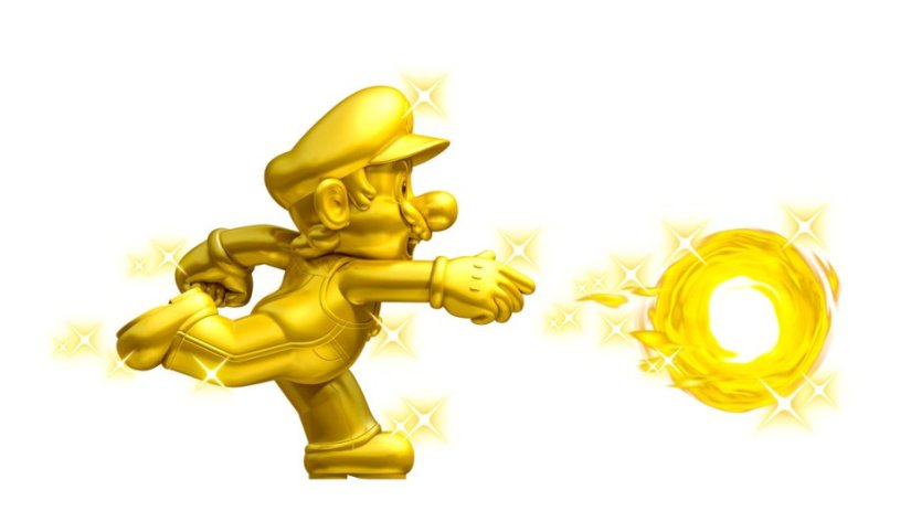 Walmart Gold Mario Amiibo Selling For Around $69.99 On eBay