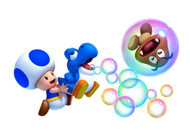 New Super Mario Bros U Features A Super Mario World Style ...