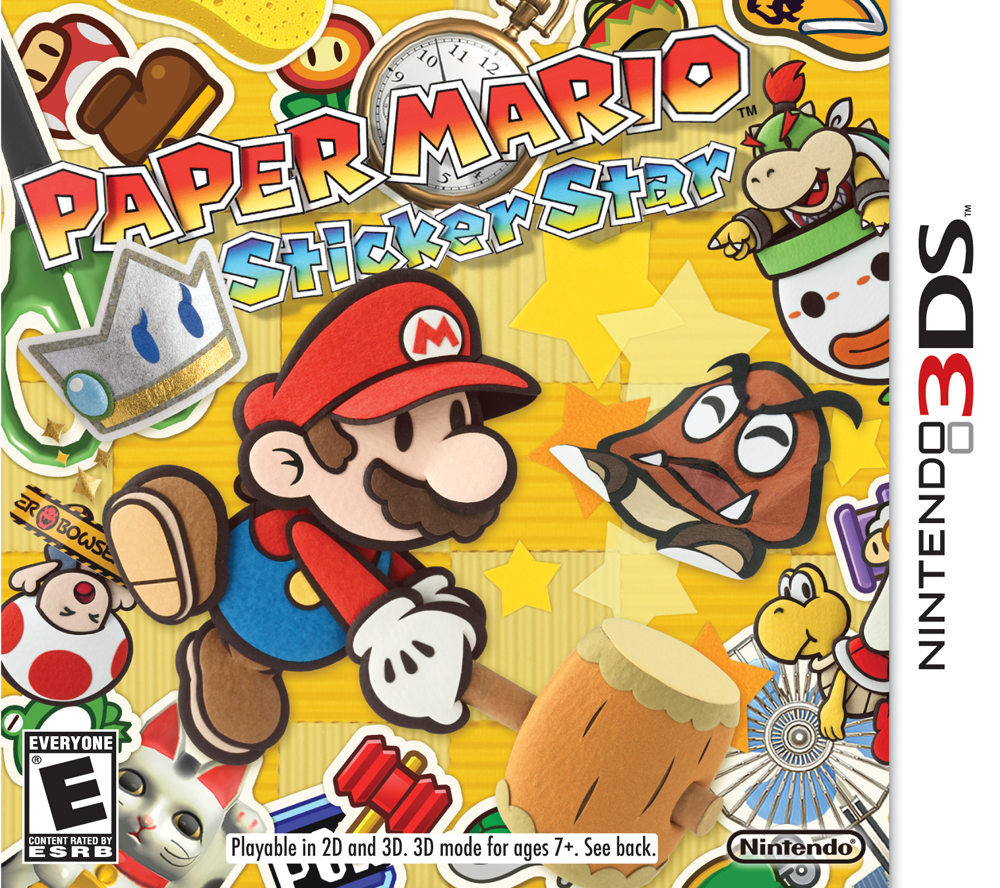 What   s New in Paper Mario  Sticker Star Mario Party Legacy FgEaF5g4