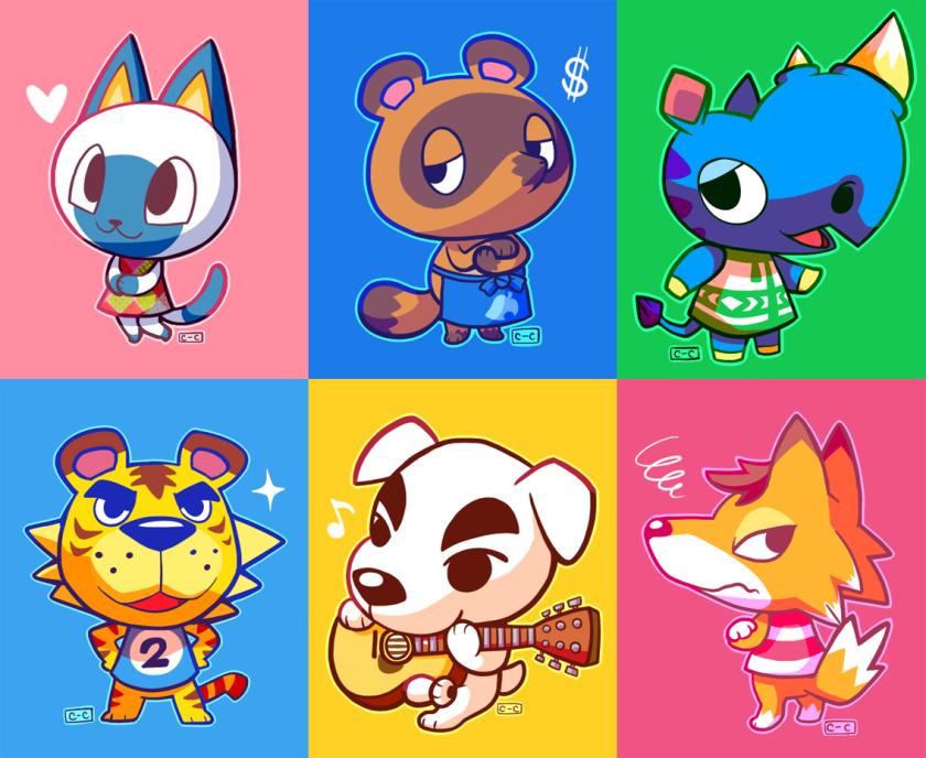 animal_crossing_characters_fan_art