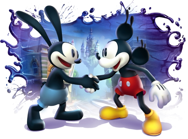 epic_mickey_2_shaking_hands