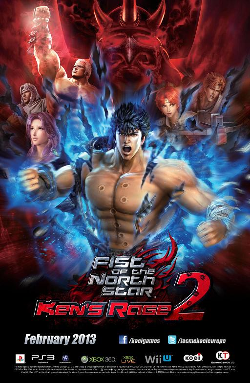 Fist Of The North Star: Ken?s Rage 2 Confirmed For Wii U
