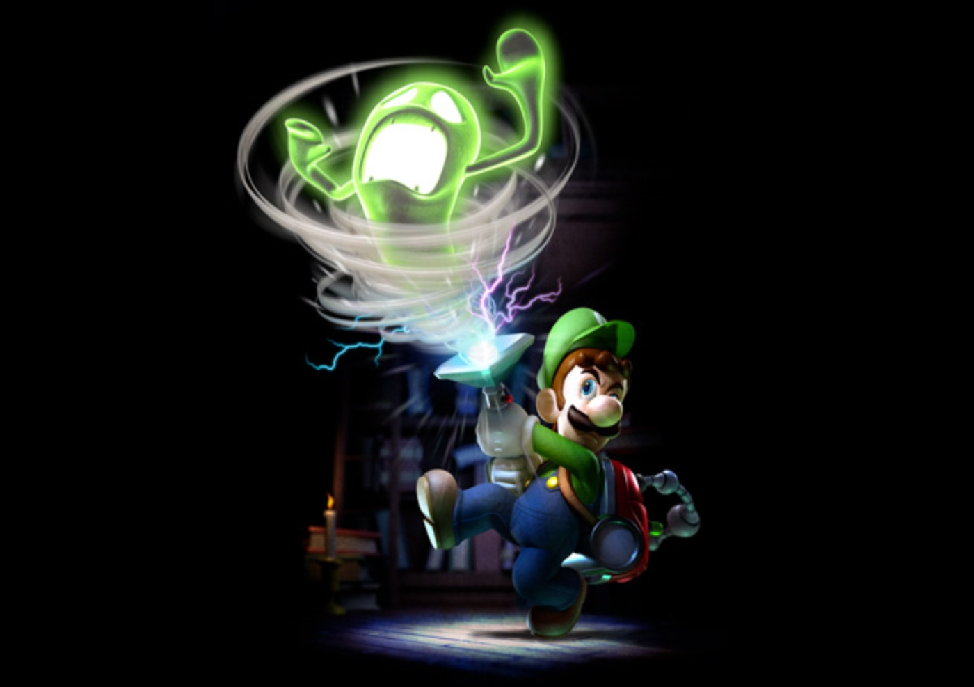 Miyamoto Luigi S Mansion Wasn T Inspired By Ghostbusters