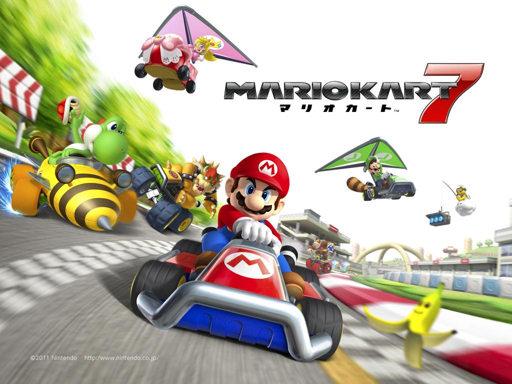 Fã cria versão da pista Moonview Highay para Mario Kart 7