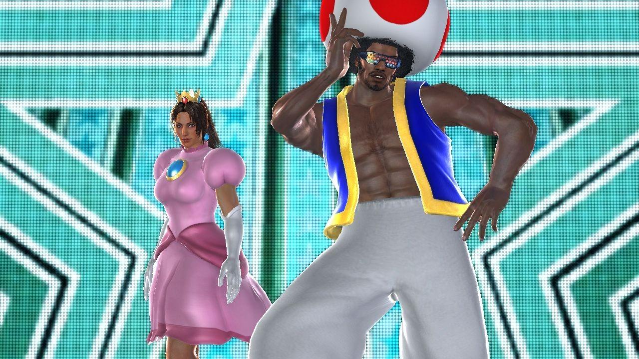 tekken tag tournament 2 peach toad Nya Nintendodräkter i Tekken Tag Tournament 2!
