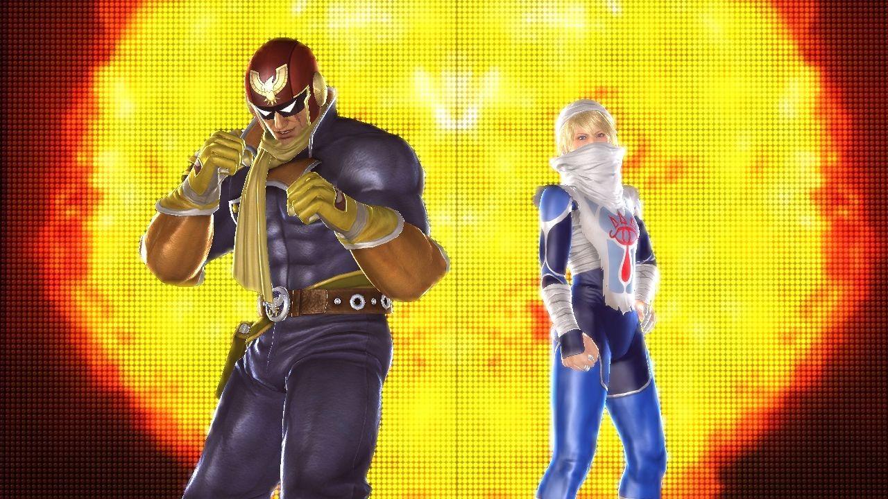 tekken tag tournament 2 shiek captain falcon Nya Nintendodräkter i Tekken Tag Tournament 2!