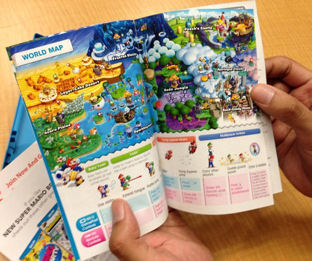New Super Mario Bros U World Map Leaks My Nintendo News