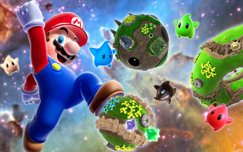 Super Mario Galaxy Vs Super Mario 3D World Video Comparison