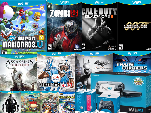 Wii U Games : Wii u has the second most retail launch titles of any