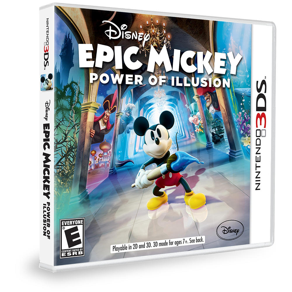 Grab Disney Epic Mickey Power Of Illusion For 19 99 At