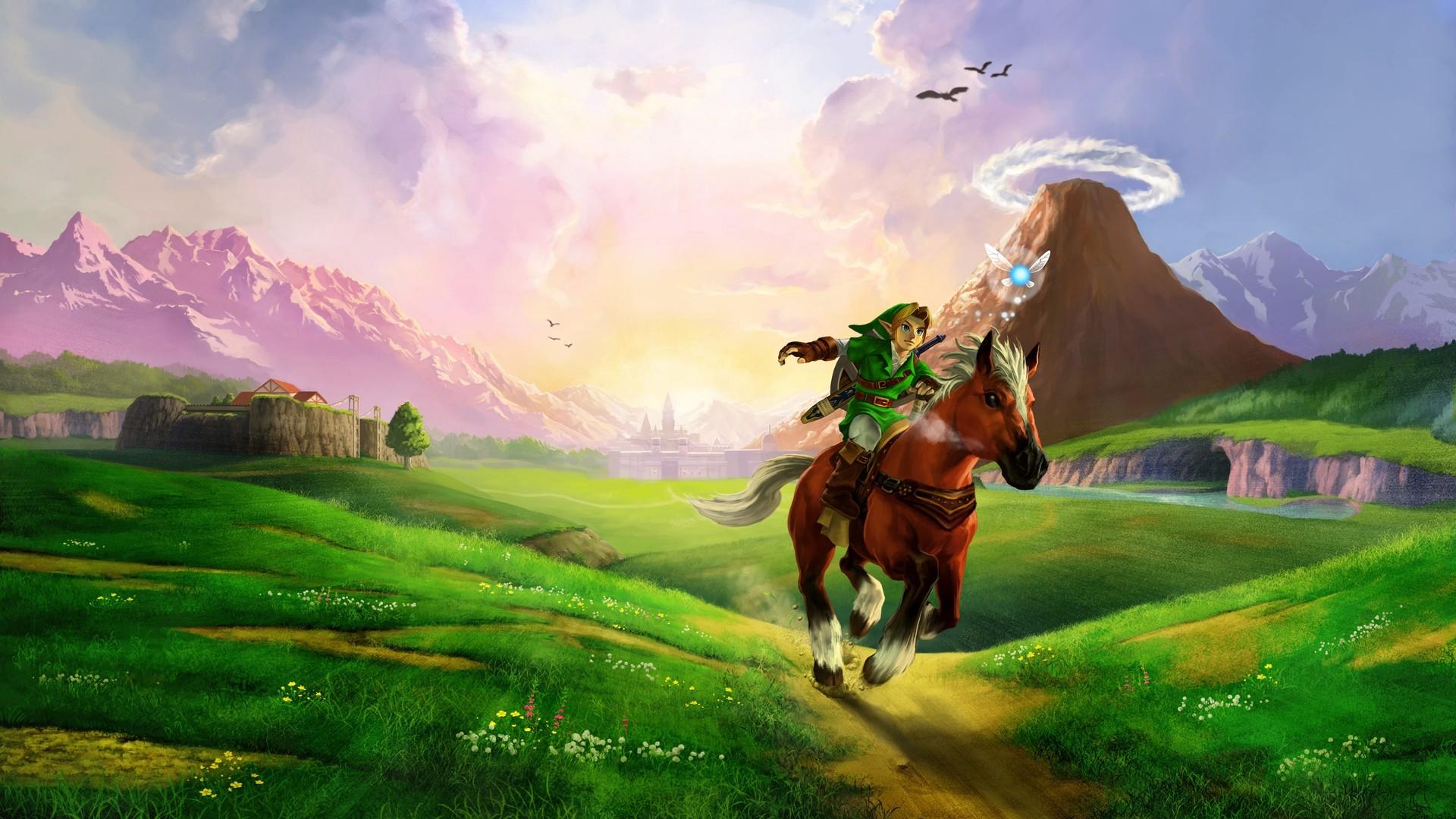 Cool Wallpaper Horse Wall - the_legend_of_zelda_ocarina_of_time_hyrule_field  Trends_374169.jpg