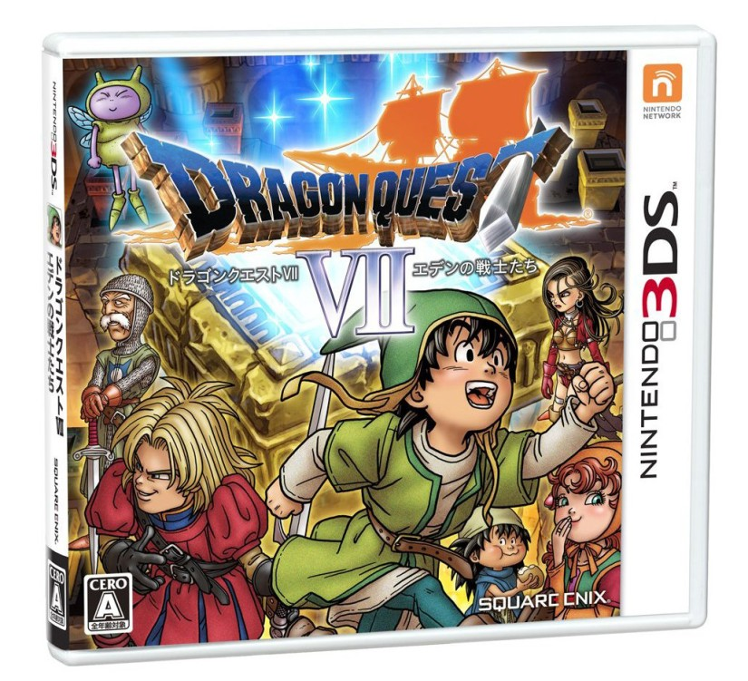 Square Enix Would Like To Localise Dragon Quest VII On Nintendo 3DS, But Are Worried AboutSales
