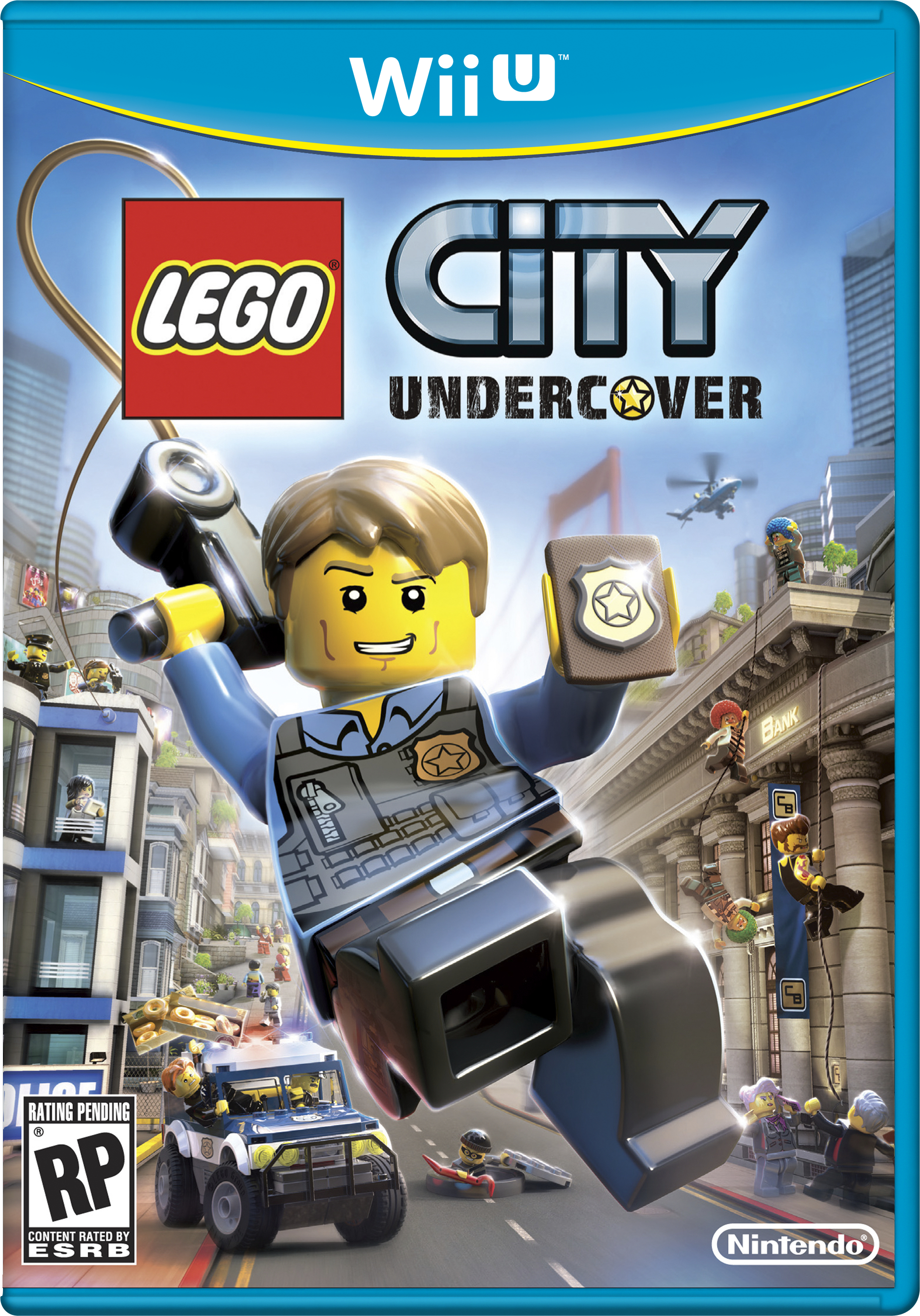 lego city undercover my nintendo news. Black Bedroom Furniture Sets. Home Design Ideas