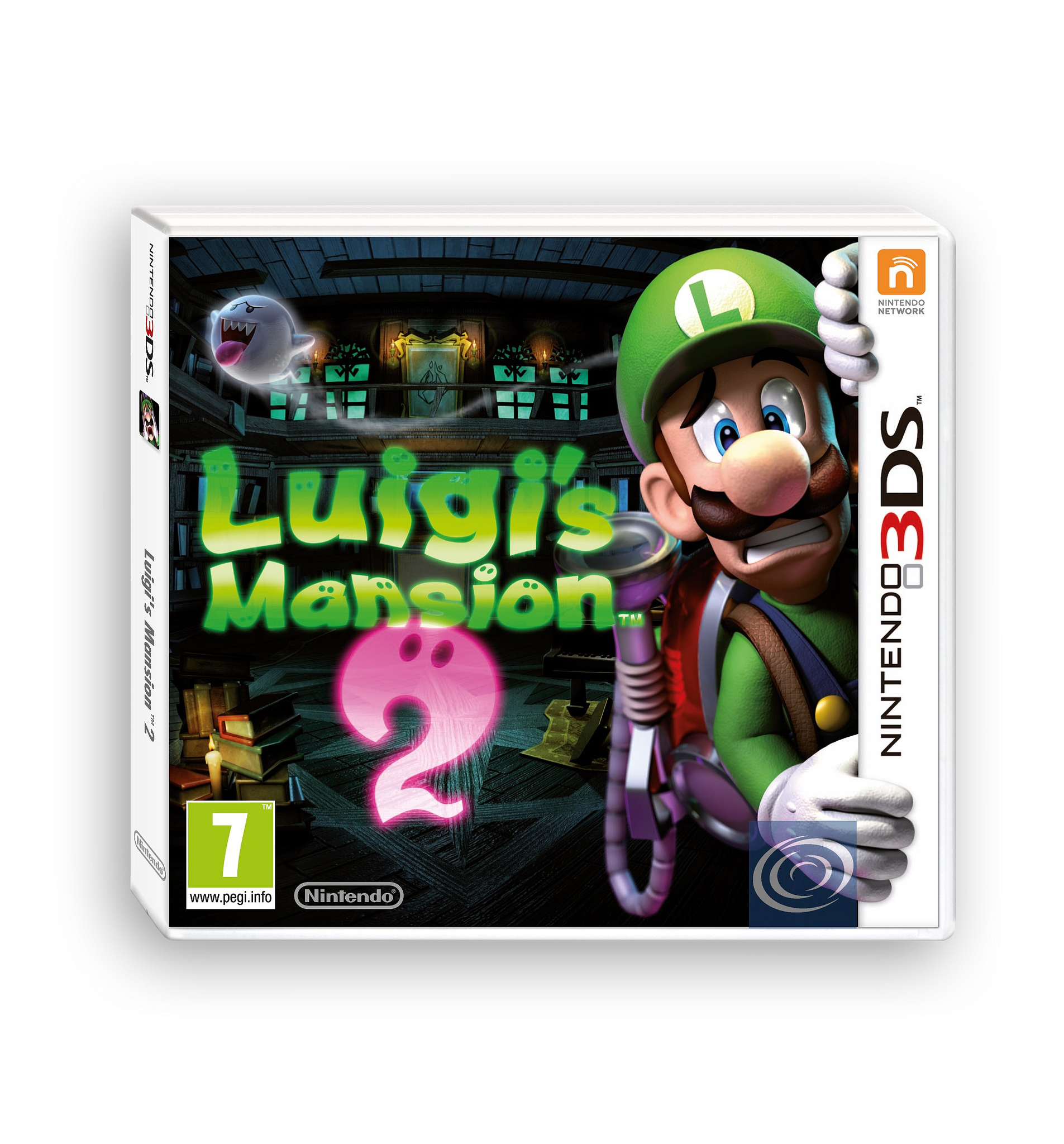 Luigi S Mansion 3ds : Luigi s mansion coming to europe in march plus box art