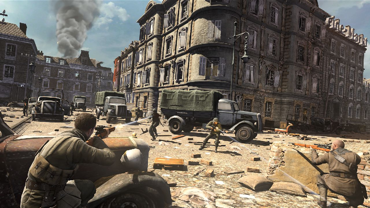 Sniper Elite V2 Hitting Wii U This Year My Nintendo News