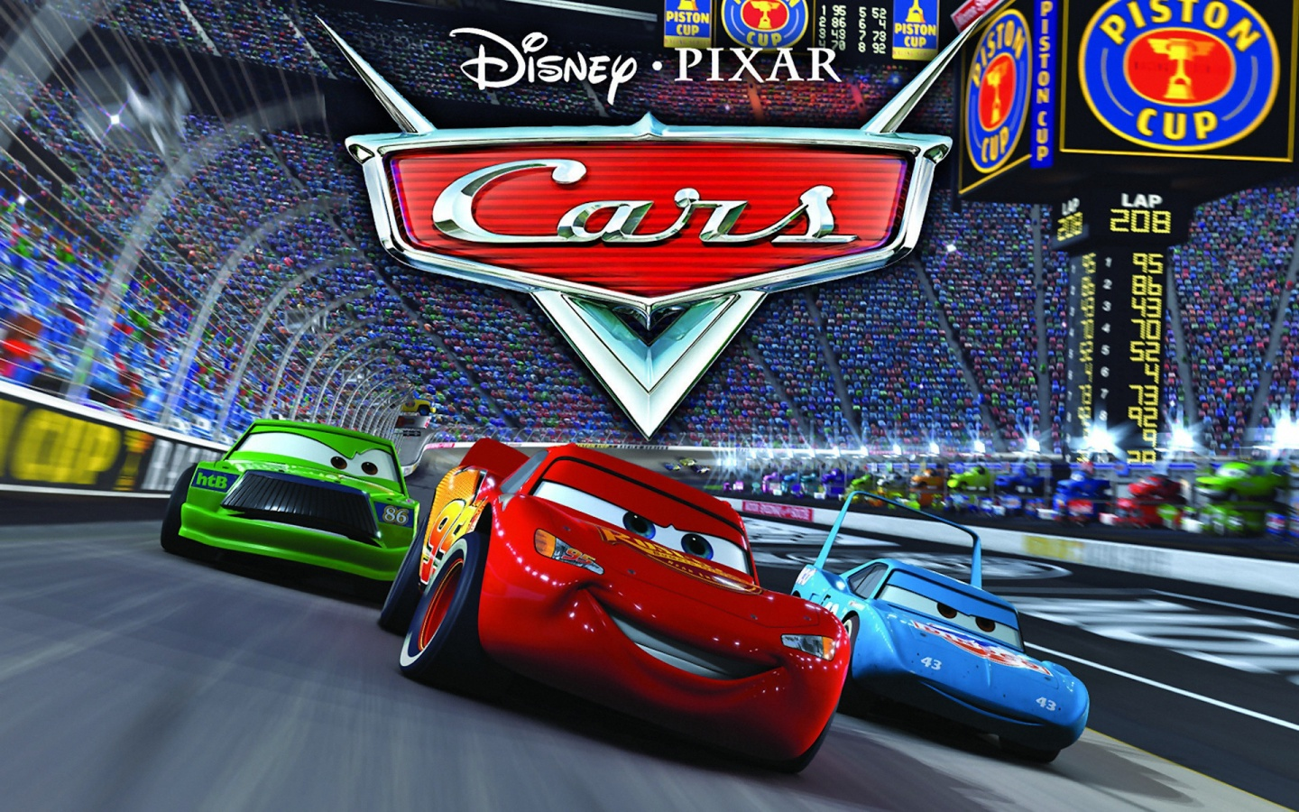 Pixar's Cars Is Comi...