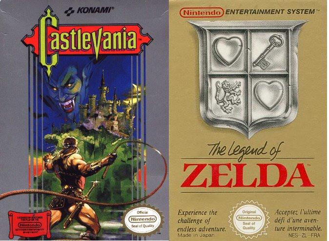 Castlevania_the_legend_of_Zelda_cover_art