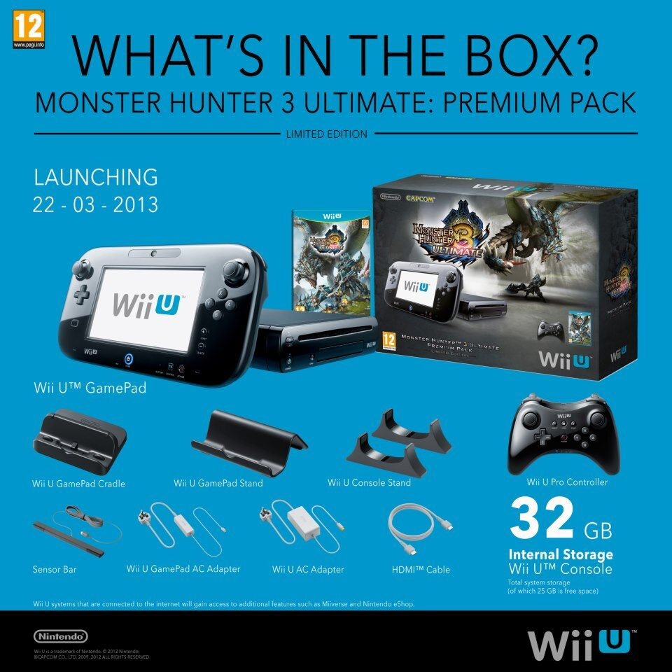 Here S The Monster Hunter 3 Ultimate Wii U Bundle My