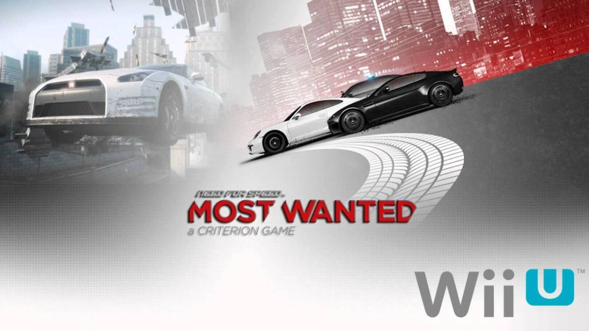 Grab Need for Speed Most Wanted Wii U For $13.99+$2.50 Shipping From OriginStore