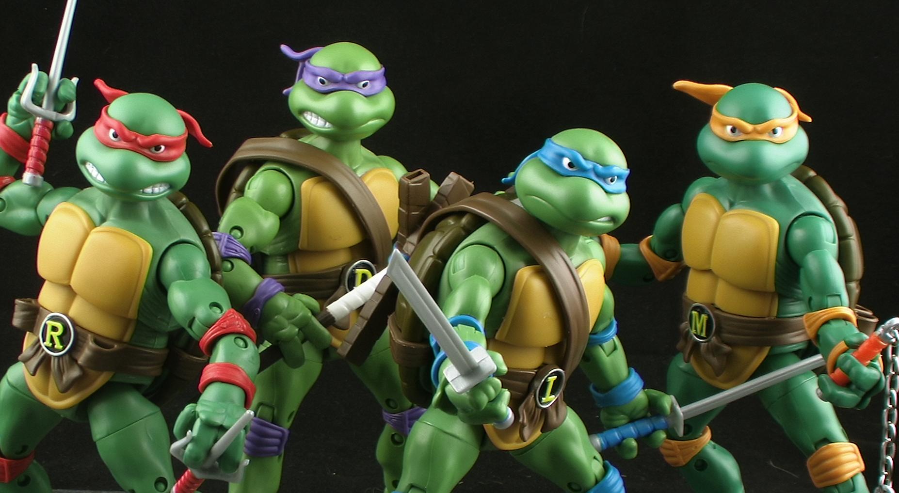 ICXM.net - Teenage Mutant Ninja Turtles game artwork leaked