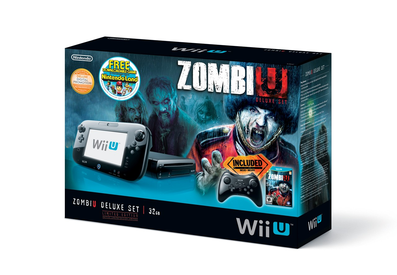ZombiU Wii U Hardware Bundle Comes With Latest Firmware Installed ...