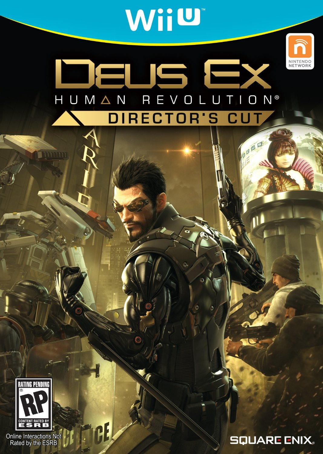 "Deus Ex Wii U Is ""Even Sharper Than PC Version"", Wii U"