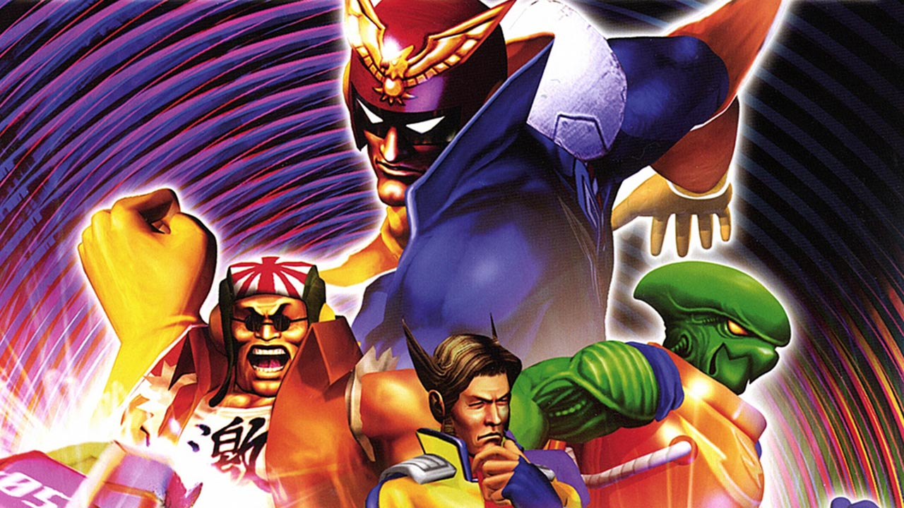F-Zero AX Arcade Game Hidden  F Zero Characters