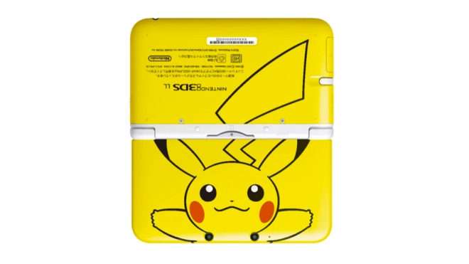 nintendo_3ds_LL_pikachu