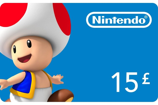 Newly designed nintendo eshop cards for uk my nintendo news